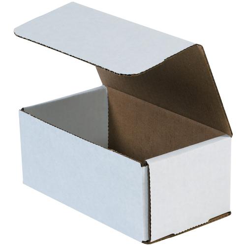 "7 x 4 x 3"" White Corrugated Mailers"
